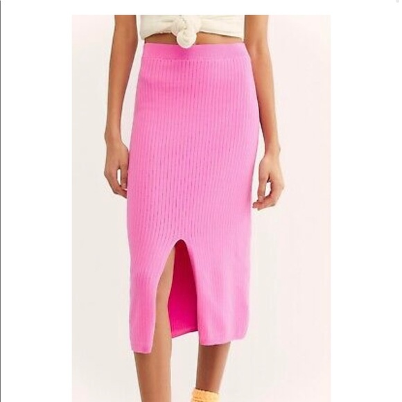 Free people Midi skirt Size L